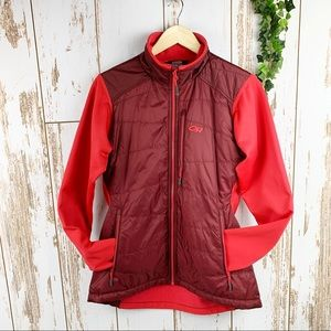 Outdoor Research Hybrid Puffy Zip Up Jacket EUC